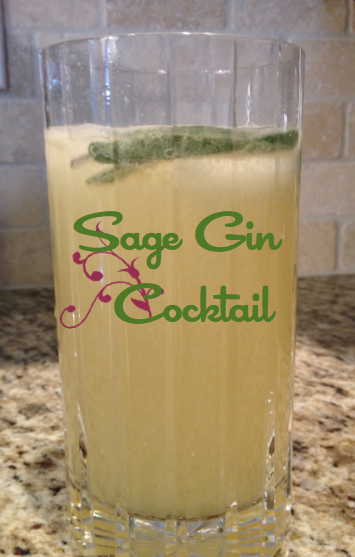 Sage Gin Cocktail Cover